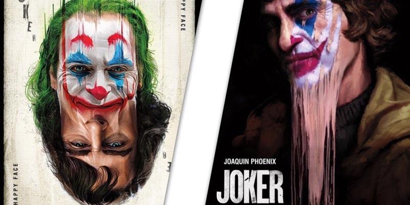 """Два свежих постера """"Джокера"""" с Хоакином Фениксом"""