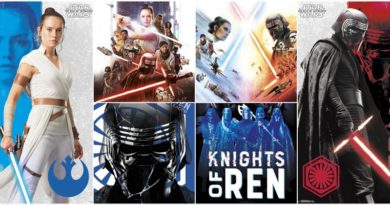 Новые постеры к фильму «Звёздные Войны: Скайуокер. Восход»