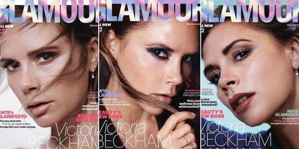 Виктория Бекхэм (Victoria Beckham) приняла участие в фотосессии для Glamour