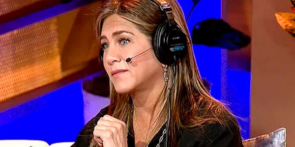 Jennifer Aniston на Sirius-XM-Radio