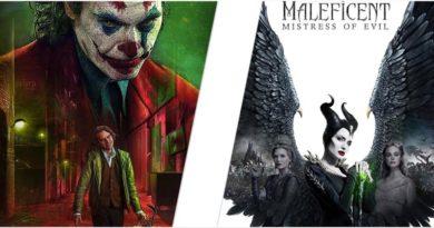 «Джокер» вновь на вершине, а «Малефисента» проваливается в США
