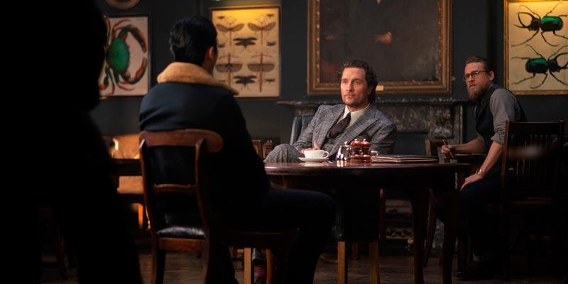 Первые кадры фильма «Джентльмены» от Гая Ричи