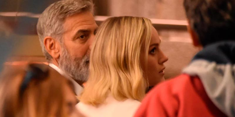 Джордж Клуни и Бри Ларсон