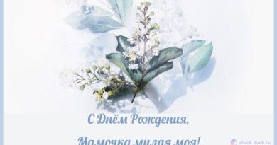 Поздравления с Днём Рождения Маме в стихах